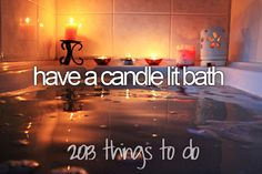 Have a candle lit bath. Kinda cliche but when I'm having a bad day and lord knows sometimes it happens a bath and a glass of wine would be awesome. 2013 things to do. Entspannendes Bad, Relaxing Bath, Bath Time, Corner Bathtub, No Time For Me, Sweet Home, In This Moment, Interior Design, Home Decor