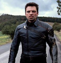 Sebastian Stan, Winter Soldier Wallpaper, Bucky Barnes Aesthetic, James Barnes, Winter Soldier Bucky, Marvel Photo, James Buchanan, Man Thing Marvel, White Wolf