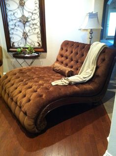 Double Chaise Lounge I Found At A Garage Sale! Tips For Garage Sale  Shopping!