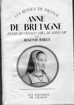 Photo: Anne de Bretagne  Auguste BAILLY