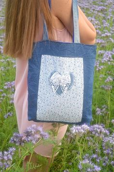 Recycle Jeans, Upcycle, Old And New, Recycling, Reusable Tote Bags, Sewing, Handmade, Dressmaking, Hand Made