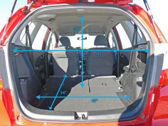 I Just Measured My Honda Fit And Here Are The Interior