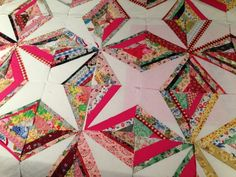 Crazy Little Strings – Diamond Charms Quilt Block and Tutorial | susies-scraps.com