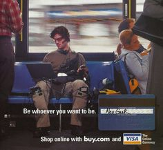 """y2kaestheticinstitute:  """" 'Neo Geek' - ad for a bunch of things now contained within a smartphone  (Yahoo! Internet Life Magazine - Sept. 2001)  """""""
