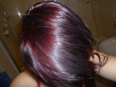 plum hair | Tumblr.....maybe my winter color?