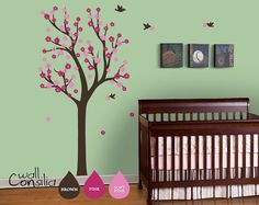 Nursery Tree Wall Decal Wall Sticker  Tree Wall by WallConsilia, $69.00