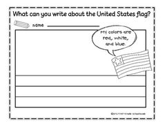 Stars and Stripes Writing Paper