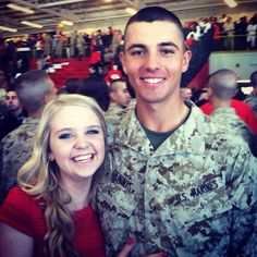 His graduation day from boot #ParrisIsland #Bootcamp #USMC #Marine
