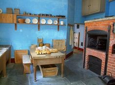 Lanhydrock House and Garden: Old kitchen