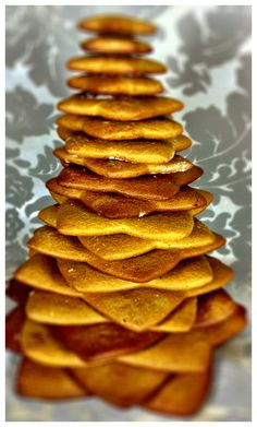 Gingerbread: Christmas tree.