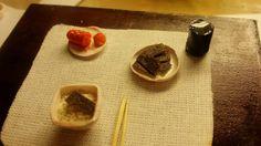 명란과 김- Cod roe & kim  #명란 #Cod_roe #김 #miniature  #Handmade #미니어처 #迷你型 #ミニチュア #Food #Miniaturefood #Polymerclay #미니어처음식 #Figure #Sculpture #RE-MENT #Korean_food  #食玩 #식완