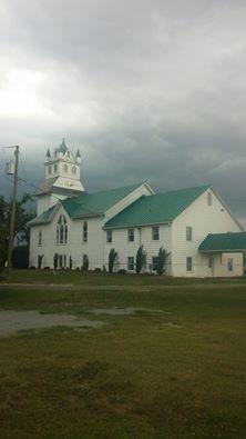 Buckhorn Baptist Church, Como NC