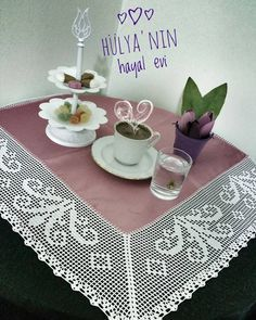 1,092 Followers, 466 Following, 249 Posts - See Instagram photos and videos from ♠Baran MertHasan♠ (@hulyanin_hayal_evi) Lace Doilies, Crochet Doilies, Hand Crochet, Crochet Lace, Rustic Table Runners, Stitch Patterns, Crochet Patterns, Fillet Crochet, Crochet Borders