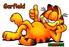 Today on Garfield - Comics by Jim Davis Garfield Cartoon, Garfield Comics, Garfield Pictures, Garfield And Odie, Cartoon Cats, Garfield Quotes, School Cartoon, Andrew Garfield, Vintage Cartoons