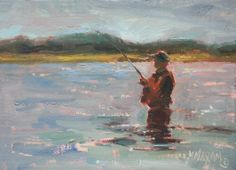 Day's End   oil painting    Mary Maxam
