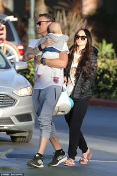 Her day: Megan Fox was treated to a Mother's Day lunch in Malibu by her husband, Brian Austin Green, and their youngest son, Journey