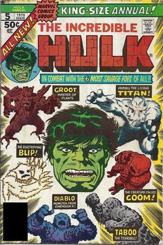 Incredible Hulk Annual #5 cover