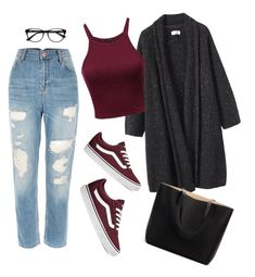 """🎲"" by mirka-smalova on Polyvore featuring Toast, Vans and EyeBuyDirect.com"