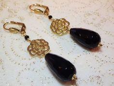 Boucles d'oreille - Alberta Musso Bijoux Des bijoux luxueux et faits main avec passion Projet en cours de financement sur www.IAMLAMODE.com - contribuez et partagez en échange de cadeaux ! #financementparticipatif #crowdfunding #iamlamode #bijoux #jewellery #success #albertamusso