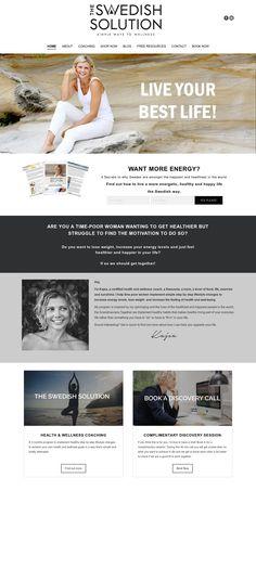 WordPress site iamwell.com.au uses the The7 theme wordpress