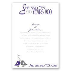 Elegant Wedding Program Cherry Blossom Purple Personalized