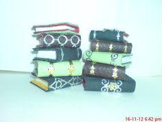 Miniature spell books.  Handmade original.  Etsy  magicalcuriosityshop