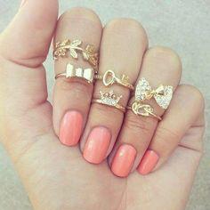 cute rings --Kenzie Leigh