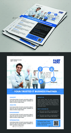 Corporate Business Flyer Design Template - Corporate Flyer Template PSD. Download here: https://graphicriver.net/item/corporate-business-flyer/17454037?ref=yinkira