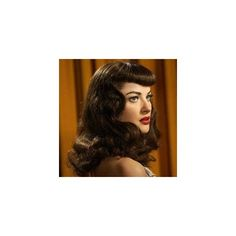 50's Hairstyles   Retro Hairstyles found on Polyvore