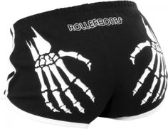 Rollerbones Booty Shorts - http://shop.amazingskates.co.uk/amazing-skates---rollerbones-booty-shorts-382-p.asp