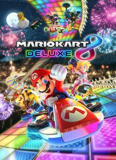 Póster Mario Kart 8 Deluxe / Nintendo Switch #MarioKart8 #WiiU #Nitendo #Switch #NintendoSwitch