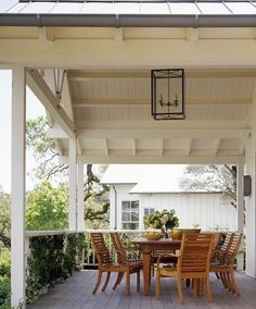 Walker-Warner in Sonoma. Great porch.