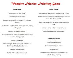 Are They Really Drinking Alcohol On The Vampire Diaries