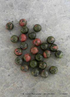 Natural Unakite Round 10mm Gemstone Beads              CC-80453