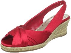 Bella Vita Women's Sangria Open-Toe Espadrille *** See this awesome image  : Strappy sandals