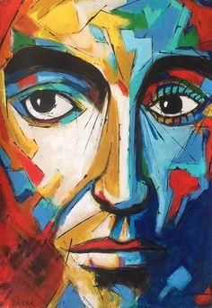 EL NIETO DE PANCHO: GLOSARIO DE ARTE Faces, Painting, Paintings, Art, Painting Art, Face, Painted Canvas, Drawings, Facial