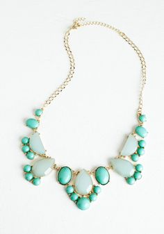 Here We Glow Again Necklace, #ModCloth