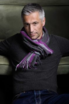 Great scarf Men's fashion & style