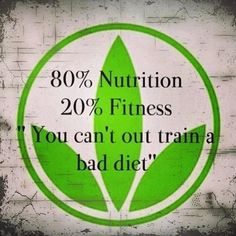 This is so true. You cant out do a bad diet. #herbalife #healthyANDactiveLifestyle