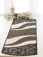 Sew - Patterns - Table Toppers - EZ Breezy Quilt As You Go Table Runner & Place Mat Pattern
