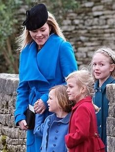 Mar 2019 in Emily London Zara Hats, Autumn Phillips, St Nicholas Church, Stephen Jones, British Royal Families, Princess Anne, Two Daughters, Family Events, Camel Coat
