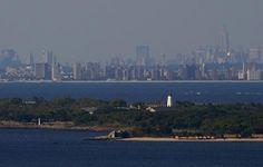 Beautiful view of Sandy Hook & Manhattan Jersey Girl, New Jersey, Best Travel Deals, Travel Tips, Atlantic Highlands, Sandy Hook, Going Home, Day Trips, San Francisco Skyline