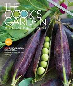 Get your new 2014 The Cook's Garden Seed Catalog today! The all new 2014 Cook's Garden catalog features all the best seeds, plants and supplies for gardeners who love to cook and cooks who love to garden; featuring heirlooms and hybrids, with an emphasis on taste. #seedcatalogs #gardening