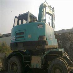 The used crawled Kobelco Excavator saves more money to you Used Excavators, Komatsu Excavator, Being Used, Construction, Money, Building, Silver