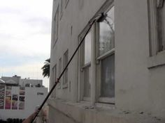 Veteran Window Cleaning Cleans A 9 Story Apartment Complex With Waterfed Pole And Boomlift In Los Angeles Ca