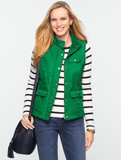 Talbots - Quilted Vest | Coats and Outerwear | Misses