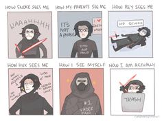 15 Times The Internet Ruthlessly Roasted Kylo Ren's Obsession With Darth Vader