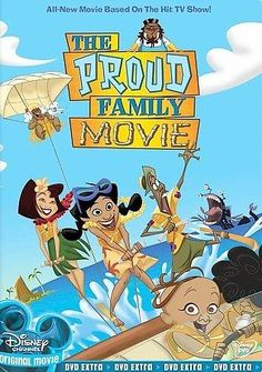 Disney Channel The Proud Family Movie