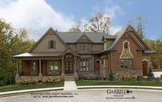 Bellevue House Plan 06112, Front Elevation, Craftsman Style House Plans, Mountain Style House Plans