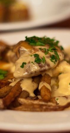 The Wild Chef Martin Picard's Foie Gras Poutine. Artery-clogging recipe available on Checkin!